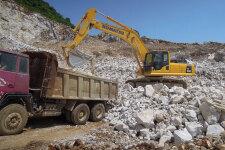 小松PC360-8M0履带挖掘机施工现场全部图片