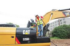 卡特彼勒320D2 GC履带挖掘机局部细节40788