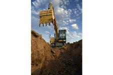 卡特彼勒M315D2轮式挖掘机施工现场40922