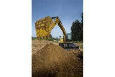 卡特彼勒M317D2轮式挖掘机施工现场40926