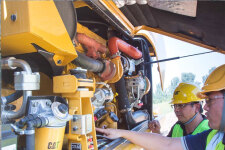 卡特彼勒M317D2轮式挖掘机局部细节40929