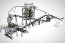 中联重科ZGM150平面式机制砂石生产线