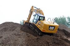 卡特彼勒新一代320液压挖掘机施工现场44440