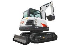 山猫E58小型挖掘机