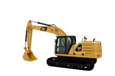 卡特彼勒新一代320液压挖掘机整机视图44759