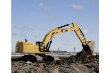 卡特彼勒349D2/D2L大型矿用挖掘机施工现场全部图片