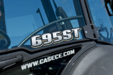 凯斯695ST T系列挖掘装载机局部细节48023