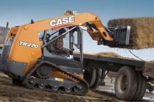 凱斯TR270 履帶式滑移裝載機施工現場48032