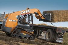 凯斯TR270 履带式滑移装载机施工现场48083