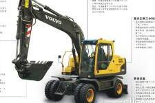 沃尔沃EW145B Prime轮式挖掘机整机视图8229