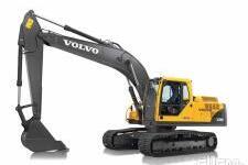 沃尔沃EC200BP履带挖掘机整机视图全部图片