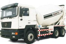 HJC5256GJB4(三桥)混凝土搅拌运输车