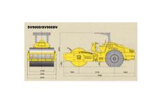 SV900DV单钢轮压路机