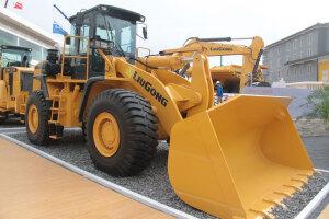 柳工CLG862-LNG轮式装载机图片集