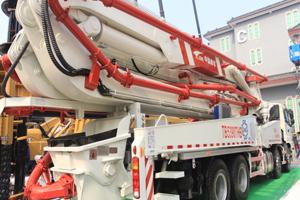 中车(南车)TB5390THB混凝土泵车图片集