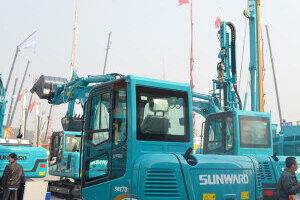 山河智能SWE70E履带挖掘机图片集