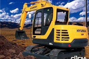 现代R80-9G履带式挖掘机图片集
