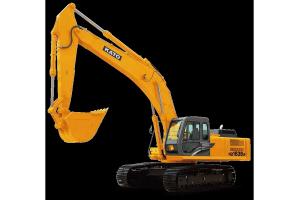 加藤HD1638R履带挖掘机图片集