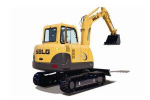 临工LG660履带挖掘机图片集