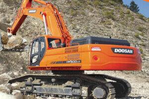 斗山DX500LC/DX500LC-G履带挖掘机图片集