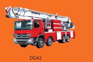 山推DG42登高平台消防车