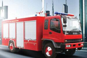 山推JY150抢险救援消防车