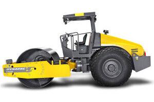 戴纳派克CA250D单钢轮振动压路机图片集