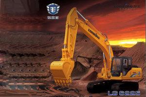 龙工LG6225履带挖掘机图片集