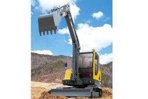 沃尔沃EC55B Pro挖掘机图片集