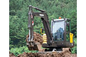 沃尔沃EC60C履带挖掘机图片集