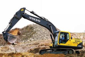 沃尔沃EC210B Prime履带式挖掘机图片集