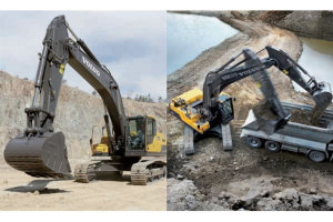 沃尔沃EC250D履带挖掘机图片集