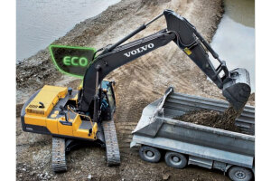 沃尔沃EC300D履带挖掘机图片集