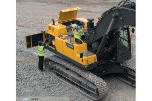 沃尔沃EC380D履带挖掘机图片集