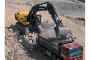 沃尔沃EC480D履带挖掘机图片集