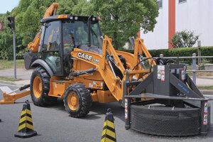 凯斯590SM3挖掘装载机图片集