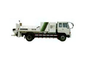 施维英Line Pump 200/120D 136KW车载式混凝土泵图片集