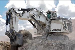利勃海尔R 9800履带挖掘机图片集