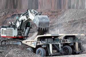 利勃海尔R 9800履带挖掘机