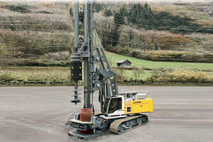 利勃海尔LB 36旋挖钻机图片集