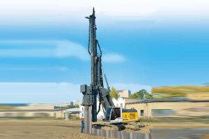利勃海尔LRB 255旋挖钻机图片集