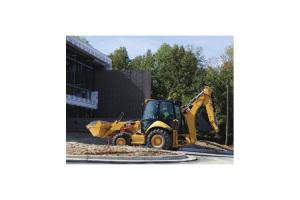 卡特彼勒416E挖掘装载机图片集