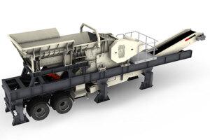 特雷克斯CSW1060J履带移动式颚式破碎站
