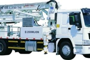 中联重科ZLJ5160THB混凝土泵车图片集