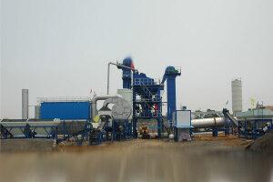 陸德筑機LD175強制式瀝青混合料攪拌設備