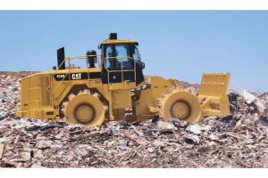 卡特彼勒826H填埋压土机图片集