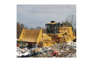 卡特彼勒垃圾压实机图片集1