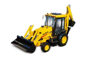 厦工XG765E挖掘装载机图片集