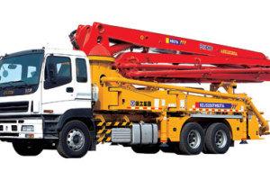 徐工HB37A混凝土泵车图片集