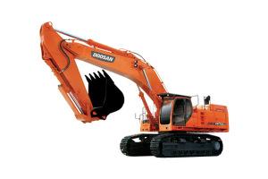 斗山DX700LC履带挖掘机